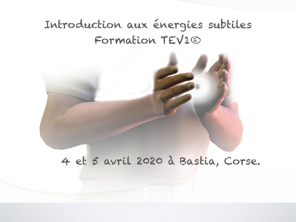 4 et 5 avril 20 TEV1 à Bastia